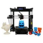 Оригинал Anycubic Upgrade Reprap I3 DIY 3D-принтер US Версия 210 * 210 * 250 мм Размер печати Ultrabase Платфром / Двойные вентиляторы с 1KG PLA Нить 1,75 мм 0,4 мм Насадка