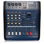 Оригинал EL M PMX402D-USB 48V 4-канальный USB KTV Karaoke Audio Stage Mixer с питанием Усилитель