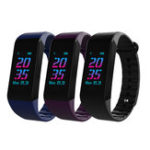 Оригинал BakeeyW6SЦветнойэкранКровяноедавление Сердце Рейтинг Монитор Фитнес Tracker Bluetooth Smart Wristband