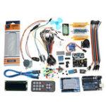 Оригинал UNO R3 Super Starter Набор LCD1602 Макетная Зуммер питания для Arduino