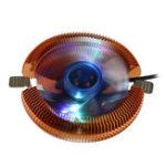 Оригинал 85-мм вентилятор охлаждения 4Pin / 3Pin LED Цветной радиатор охлаждения процессора для Inter AMD