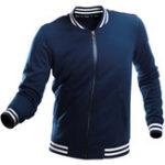 Оригинал Повседневная спортивная молния с флисом Lan Lovers Varsity Jacket