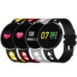 Оригинал KALOAD CF006H Цветной экран Сердце Оценить артериальное давление Монитор IP67 Водонепроницаемы Smart Sports Bracelet