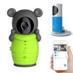 Оригинал CleverСобакаDOG-2WSmartкамераВай-фай Wireless Baby Монитор Интеллектуальные оповещения ночного видения Nanny камера Поддержка iOS Android Без