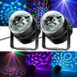 Оригинал SOLMORE RGB Лазер Проектор LED Stage Light Sound Control Волшебный Ball Effect Лампа для Club DJ Disco
