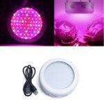 Оригинал 50W Full Spectrum UFO 50 LED Растение Light Indoor Hydroponics Grow Лампа для растительного цветка AC85-265V