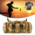 Оригинал ZANLURE35*15*9 см Камуфляж Nylon Оксфордская барабанная катушка Рыбалка Сумка На открытом воздухе Плечо талии Сумка