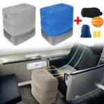 Оригинал АвтоAirplaneTravelНадувнаяподставкадля ног Parallel Seat Спящая подушка Подушка с крышкой