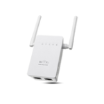 Оригинал 300 Мбит / с 802.11 Dual Antennas Wireless Wifi Range Repeater Booster AP Router UK Plug