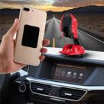 Оригинал 360 градусов вращения Складные Авто Подставка Держатель панели держатель Магнитная подставка для телефона для iPhone Samsung