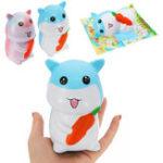 Оригинал Squishy Hamster Slow Rising Cute Animals Collection Подарочная игрушка с упаковкой
