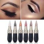 Оригинал HengFang Двойное использование Shimmer Eye Shadow Black Eyeliner Палка