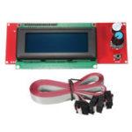 Оригинал TEVO® 3D Printer Part 2004 LCD Дисплей 3D-контроллер принтера для RAMPS 1.4 Reprap