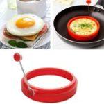 Оригинал Honana HN-EG1 Форма для мытья мундштуков круглой формы Силиконовый Nonstick Frying яйца Форма пресс-формы для блинчиков для пресс-формы для кухонной пл