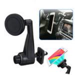 Оригинал Универсальное сильное магнитное вращение на 360 градусов Авто Подставка для держателя для воздуховодов для мобильного телефона