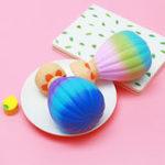 Оригинал Chameleon Squishy Hot Air Воздушный шар Медленная растущая коллекция подарков с упаковкой