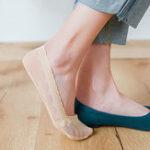 Оригинал Нет Показать обувь без каблука с высокими каблуками Обувь Лодка Носки