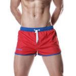 Оригинал Мужская водоотталкивающая спортивная ничья Mid Rise Board Shorts