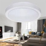 Оригинал 12W 1000LM Современный круглый LED Потолочный светильник Flush Mount Лампа для спальни Кухня Ванная комната AC110-240V