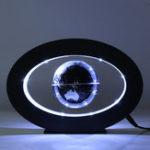 Оригинал Магнитная левитация Плавающая карта мира Globe Desktop Вращающаяся планета Earth Globe Ball Светодиодный