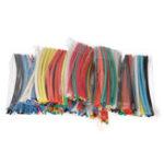Оригинал 315PCS Flame Retardant Прочный 7 цветных цветов Соотношение 2: 1 Термоусадочная трубка из полиолефина Трубка