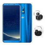 Оригинал thlKnight24GB64GBMT6750 Octa core Смартфон синий With Dacom Wireless синийtooth Гарнитура
