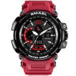 Оригинал SMAEL170250MВодонепроницаемыDualДисплей Мужские цифровые часы