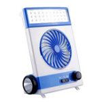 Оригинал Солнечная Power Перезаряжаемый 5 Blade Vent Fan Light Cooling Home Office Авто Кемпинг