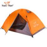 Оригинал TrackManTM1201Наоткрытомвоздухе Палатка 2 Человек Водонепроницаемы 3 Сезонные двухслойные походы Кемпинг Палатки