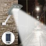 Оригинал 20W Солнечная Powered Radar Датчик Light Control LED Street Light На открытом воздухе Водонепроницаемы Wall Лампа