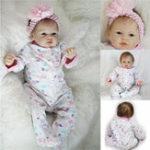 """Оригинал Реальный новорожденный 22 """"ручной работы Lifelike Baby Кукла Reborn Силиконовый Vinyl Clothes Body"""