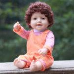 Оригинал  Reborn Кукла 50CM Full Силиконовый Виниловые детские игрушки для детей Игрушки Bebe Gift Куклаs Action Figure