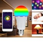 Оригинал E27 RGBW WIFI Alexa Voice Дистанционное Управление LED Smart Light Bulb AC85-265V