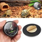 Оригинал Reptile Tortoise Vivarium Terrarium Meter Термометр с цветовыми кодами
