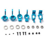 Оригинал HSP Upgrade Parts Set сплав Front Rear Hub Carrier Steering для 1:10 RC Racing Car Model