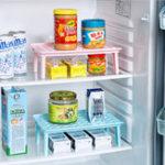 Оригинал HonanaKS-961ПластиковаякухняХолодильникХолодильник Стойка для хранения Многофункциональная микроволновая печь для подогрев