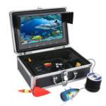 Оригинал 9 дюймов LCD Монитор Fish Finder Инфракрасный Лампа Подводный Рыбалка Видео HD 1000TVL камера