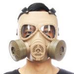 Оригинал Breathable Gas Маска Вентилятор с двойным фильтром CS Edition Защита от пыли