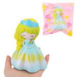 Оригинал Cute Squishy Princess Свадебное Девушка 15CM Медленный растущий ремешок Soft Сожмите игрушку с упаковкой