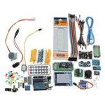 Оригинал Суперпроект UNO R3 Стартер Набор С реле Jumper Макетная LED SG90 Сервопривод Для Arduino