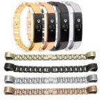 Оригинал Замена нержавеющей стали запястье Стандарты Браслет пряжки для Fitbit Alta Tracker