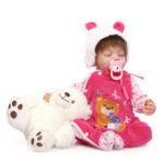 Оригинал NPK 21 дюймов 55cm Reborn Baby Новорожденный мальчик Soft Силиконовый Кукла Handmade Lifeike Baby Girl Куклаs Play House Toys Birthday Gift