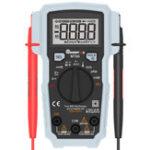 Оригинал MUSTOOLMT66TrueRMS5999Counts Digital Мультиметр AC / DC Токовое напряжение Частота Сопротивление Емкость Тестер температуры Рабочийцикл