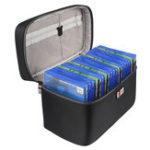 Оригинал BUBM YGX-20P Портативная видеокарта для переноски Чехол Travel Storage Сумка для Sony для XBOX для Nintendo
