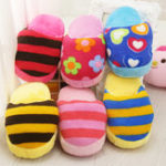 Оригинал Cute Собака Toys Sound Soft Plush Тапки Pet Puppy Chew Squeak Squeak Plush Sound Toy