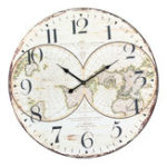 Оригинал 58см Стена Часы Экстренная большая компрессированная деревянная стена Retro Часы Lacquer Surface для Home Room Decor