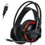 Оригинал Sades R2 7.1-канальный объемный звук Stereo Breathing Light Gaming Over-Ear Headset с Микрофон