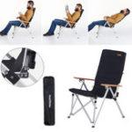 Оригинал NaturehikeНаоткрытомвоздухеКемпингАлюминиевый складной стул Максимальная нагрузка 120 кг для Рыбалка Пикник барбекю