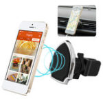 Оригинал Универсальное сильное магнитное вращение на 360 градусов Авто Подставка для крепления держателя для воздуховодов для мобильного телефона