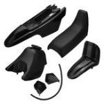 Оригинал Грязеуловитель для ванны с пластиковой крышкой для газового баллона Набор для Yamaha PW50 PY50